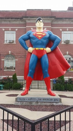 Superman Statue: Truth, justice and the American way