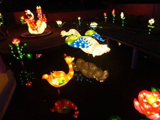 Lampion Di Scnm Picture Of Suroboyo Carnival Park Surabaya
