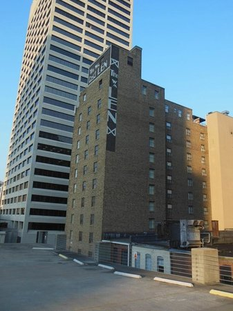 Residence Inn Memphis Downtown : View from parking deck