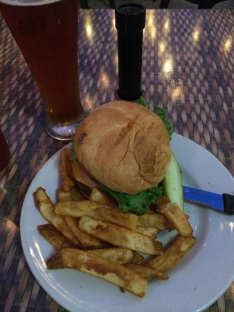 Upland Brewing Company: Burger and a Pilsner