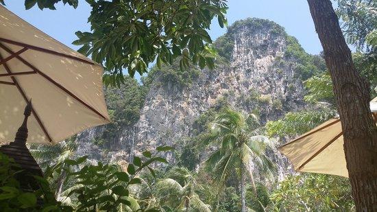 Ban Sainai Resort : piscine avec superbe vue