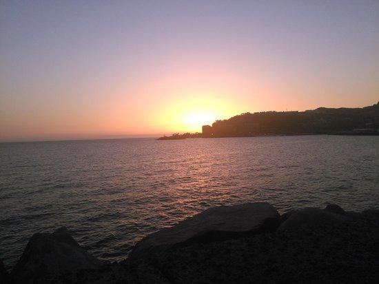 Servatur Green Beach : puesta de sol desde Green beach