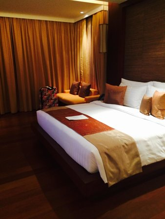 Movenpick Resort Bangtao Beach Phuket: الغرف جدا واسعه ونظيفه
