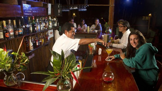 Refugio Amazonas : The Bar with special jungle cocktails