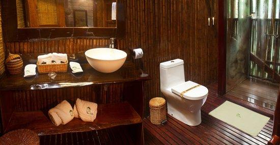 Refugio Amazonas: Premium room - bathroom