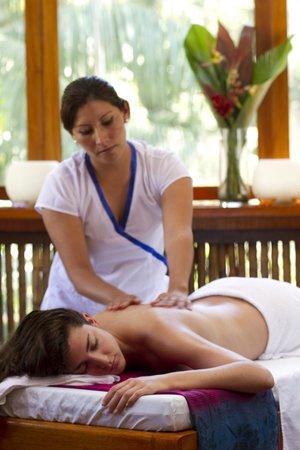 Refugio Amazonas: Massage center
