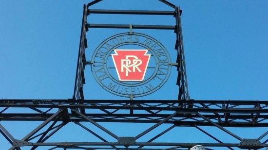 Altoona Railroaders Memorial Museum : Museum Sign