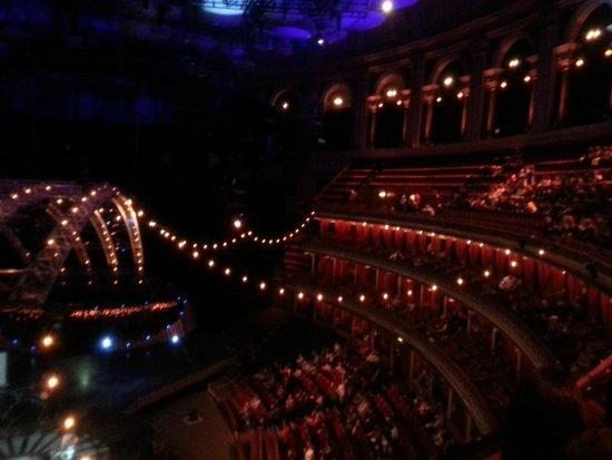 Royal Albert Hall: Interior do Albert Hall