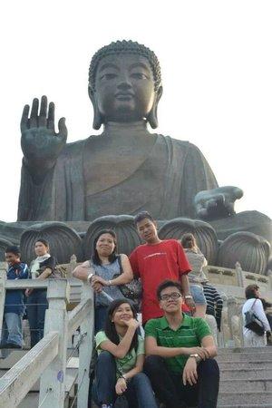 Grand Bouddha : big buddah