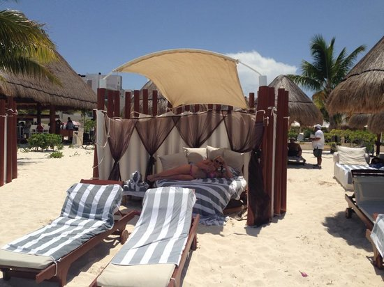 Beloved Playa Mujeres: Private Cabana