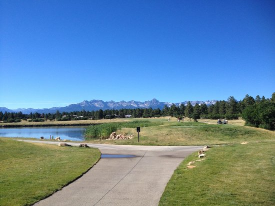 Ridgway, CO: First hole