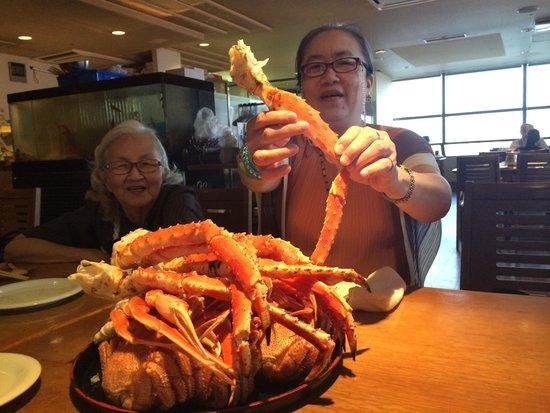 Ebi-kani Gassen: For crab eating lover
