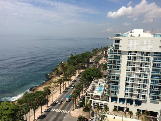 Crowne Plaza Santo Domingo: View from the balcony1