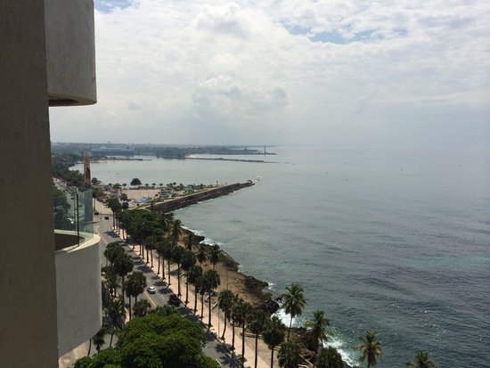 Crowne Plaza Santo Domingo: View from balcony 2
