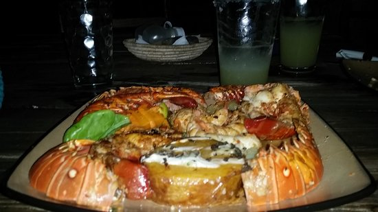 Temporary Cal's Cantina: Lobster plate