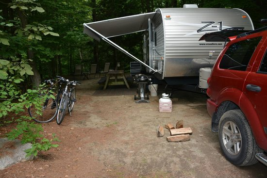 Adirondack Camping Village : our site (#124)
