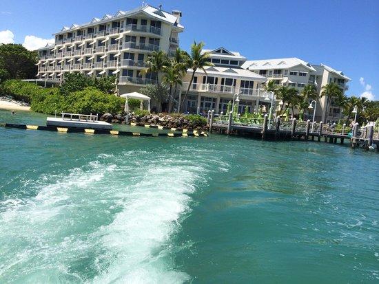 Hyatt Centric Key West Resort and Spa: Hyatt Key West Resort from the sea