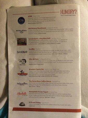 Gaylord Palms Resort & Convention Center: Restaurants