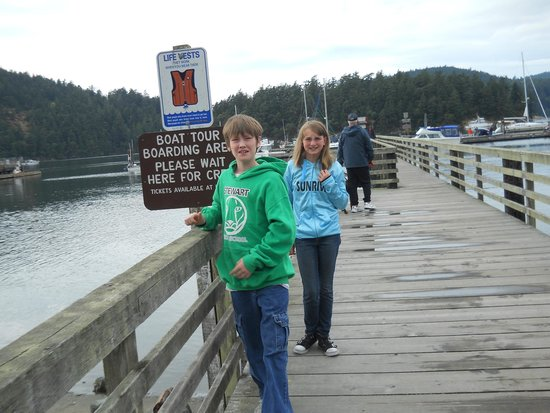 Deception Pass Tours: Ready for a Grandkid Adventure.