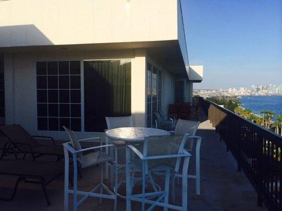 The Sheraton San Diego Hotel & Marina : Balcony View