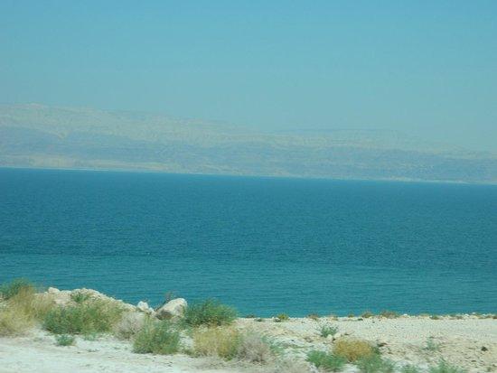 Mineral Beach : Looking east to Jordan