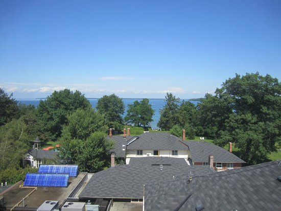 The Briars: View from The Tower - Lake Simcoe