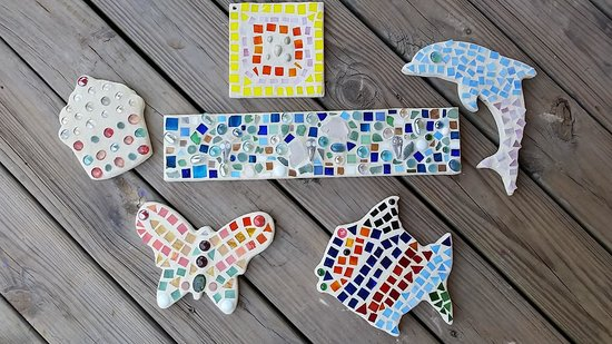 The Silver Door: Mosaic fun for all!
