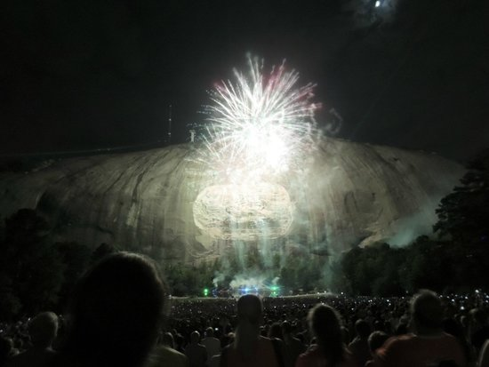 Lasershow Spectacular at Stone Mountain Park : Fireworks