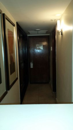 Mayfair Hotel & Spa : Dark entry