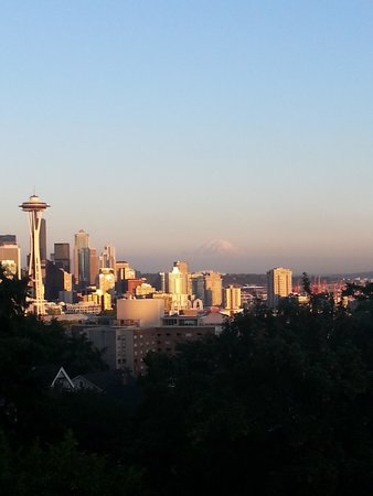 Hampton Inn & Suites Seattle Downtown: Skyline view from overlook