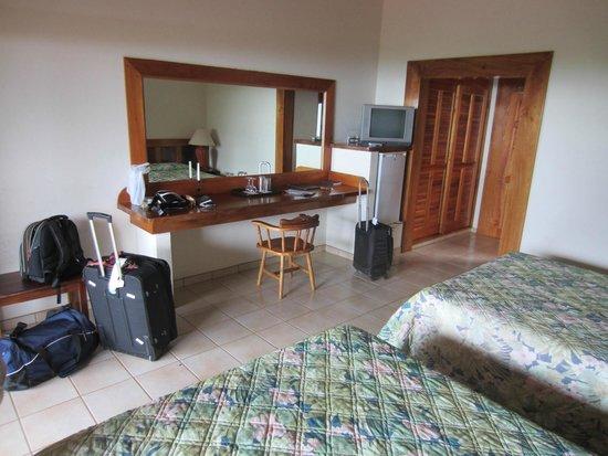 Hotel Montana Monteverde: Inside the room