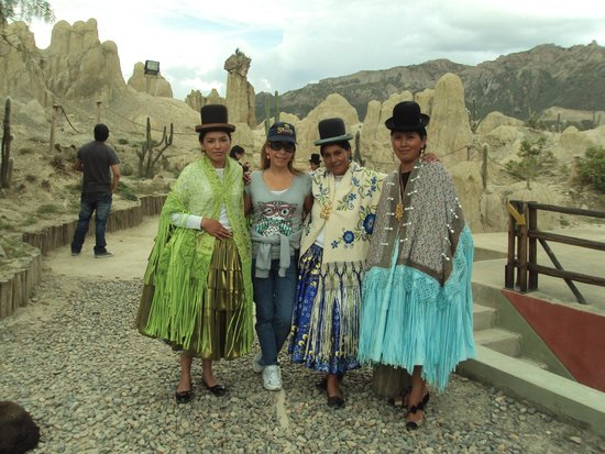 Valle de la Luna: The girls