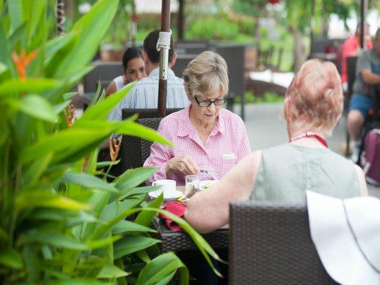 Vinh Hung Riverside Resort: Breakfast area