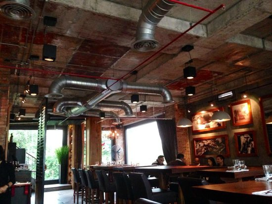 El Gaucho - Argentinian Steakhouse: the restaurant at my brunch time