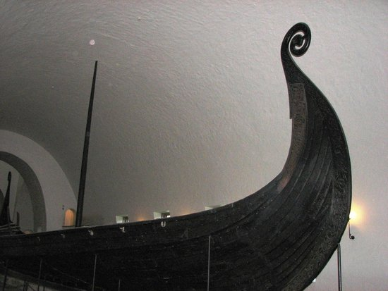 Viking Ship Museum : One of the preserved ships