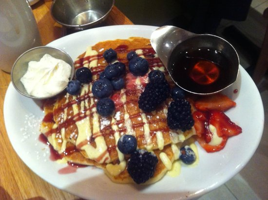 Wildberry Pancakes and Cafe : Wildberry special pancakes