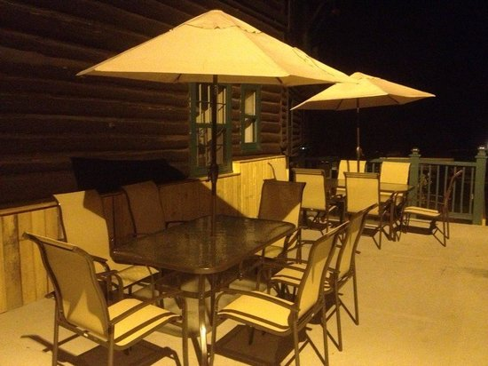Manoir Alpine: Terrasse