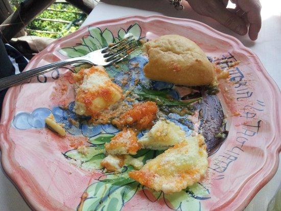 La Tagliata: Pasta course (half eaten