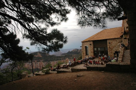 Grand Canyon Lodge - North Rim: Sit down , relax and enjoy the view