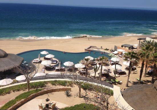 The Resort at Pedregal: view from Oceanview Deluxe King room, building 2, third floor