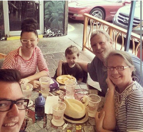 Frenchy's Original Cafe: Family time