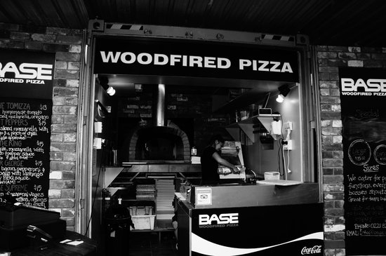 BASE Woodfired Pizza: Our container
