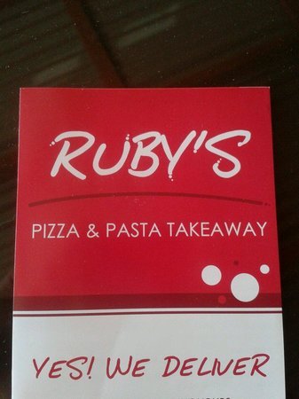 Ruby's Pizza And Pasta Takeway: rubys
