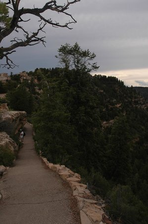 Grand Canyon Lodge - North Rim: One of the hiking trails