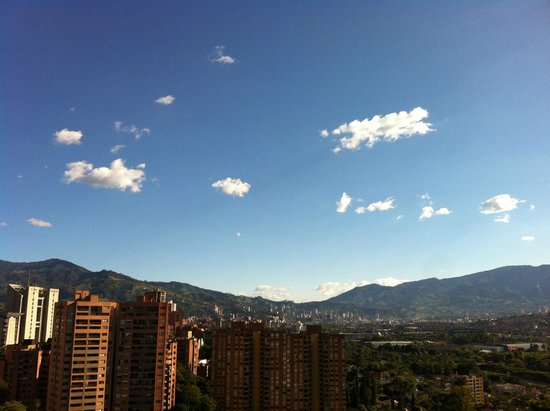 Medellin Corporate Stays: View from the balcony!