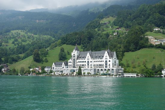 Best Of Switzerland Tours View Viznau From Lake Lucerne Cruise