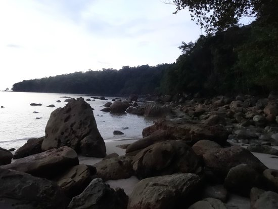 Permai Rainforest Resort: Beach