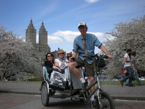 Central Park Pedicab Tours with Laramie Flick