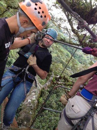 Monteverde Extremo Park : Canopy