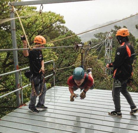 Monteverde Extremo Park : Superman